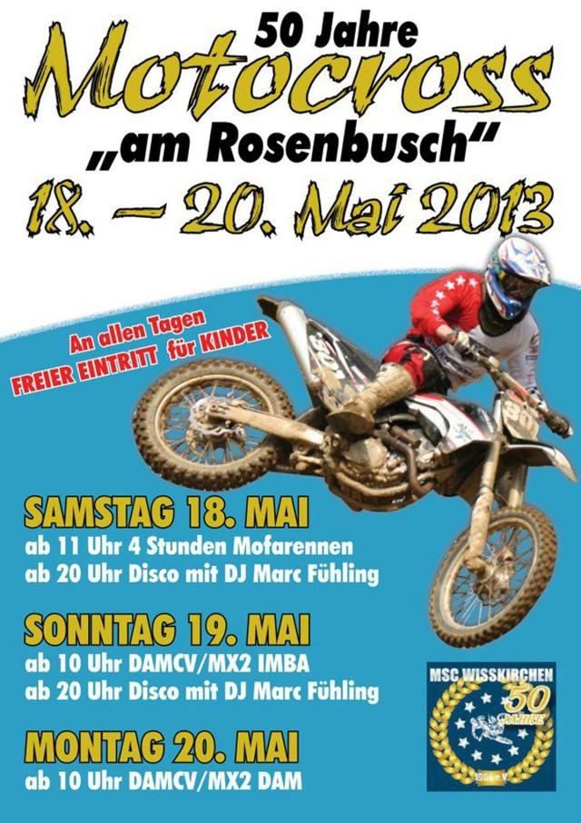 Plakat MSC Wißkirchen
