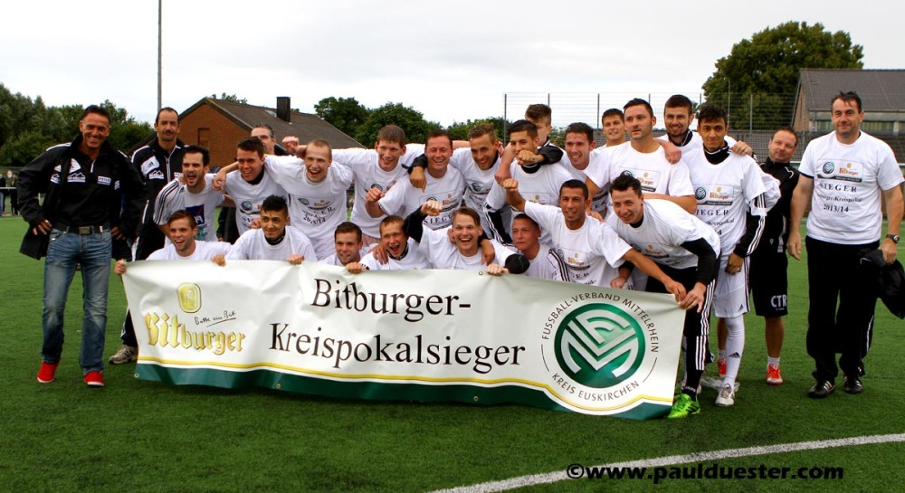 FUSSBALL. Bitburger-Kreispokal: Zülpich und Nierfeld holen den Cup (1/2)