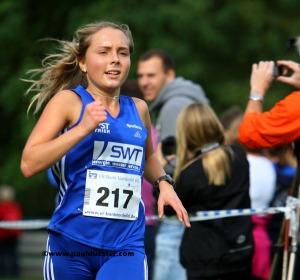 Eifelcup Gesamtsiegerin 2013 Nora Schmitz (PST Trier).