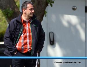 Dieter Pütz schaute sich am Sonntag schon einmal den Kader der A-Jugend der SF 69 an.
