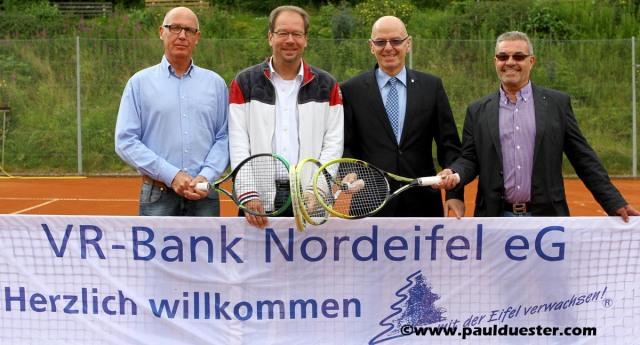 Ernst Widdau,, Volker Mießeler, Bernd Altgen und Siggi Hein.